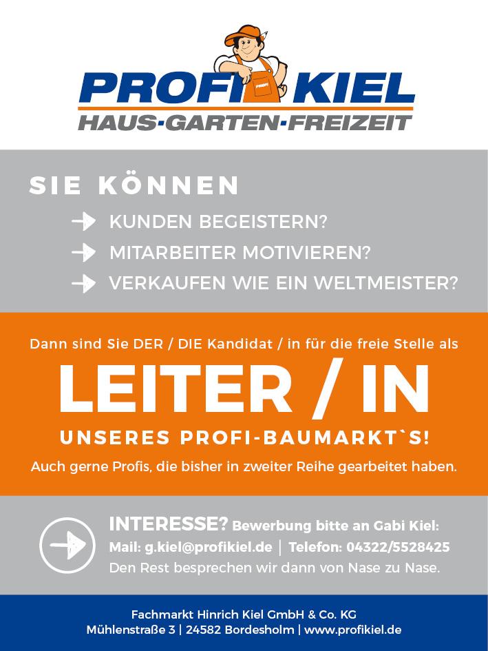 9153_Profi Kiel_2018090_Stellenanzeige
